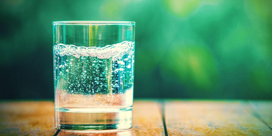 Bongwasseralternativen: Sprudelwasser