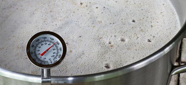 Thermometer Bier Temperatur