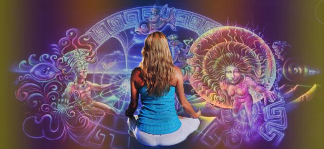 Psychedelische Yoga-Erfahrung
