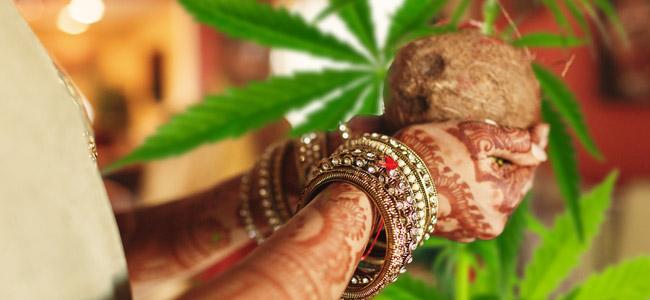 Indischen Kultur Bhang