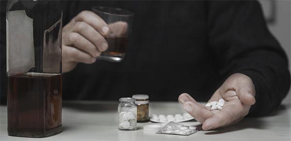 Cannabis um Alkohol zu ersetzen