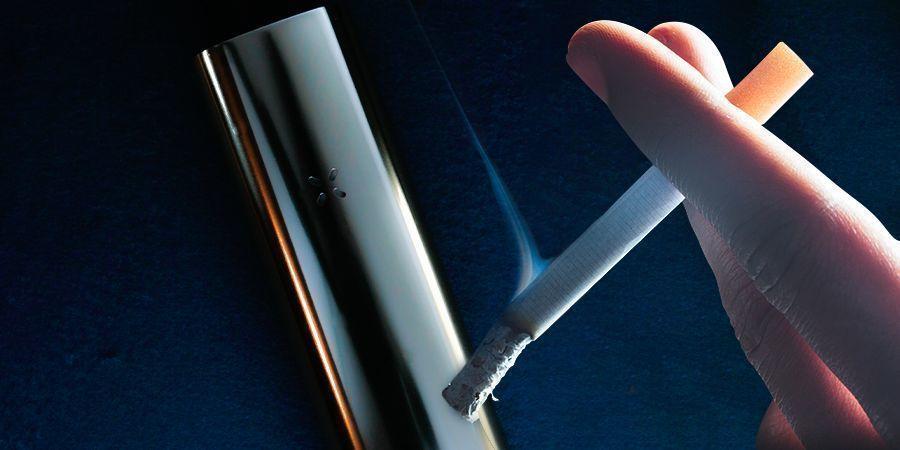 Was unterscheidet Verdampfen und Rauchen?