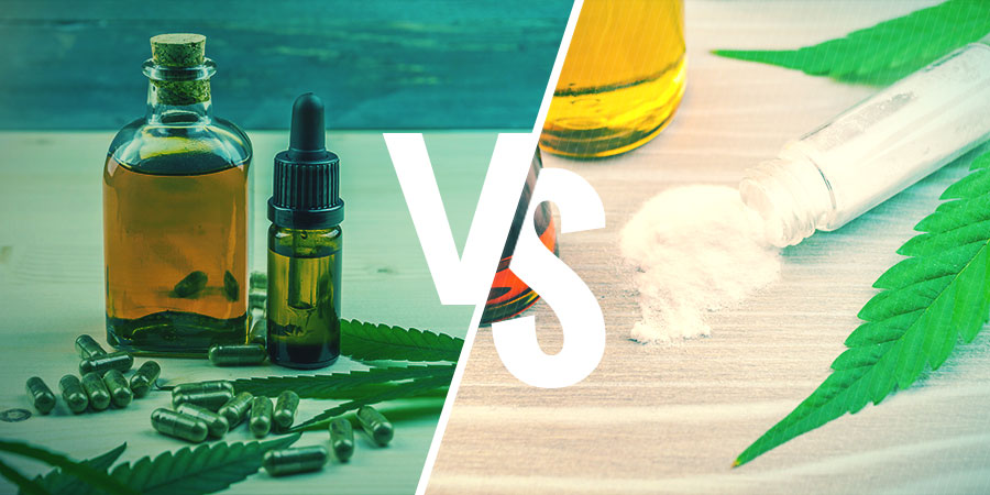 Vollspektrum-CBD-Extrakt vs. CBD-Isolat