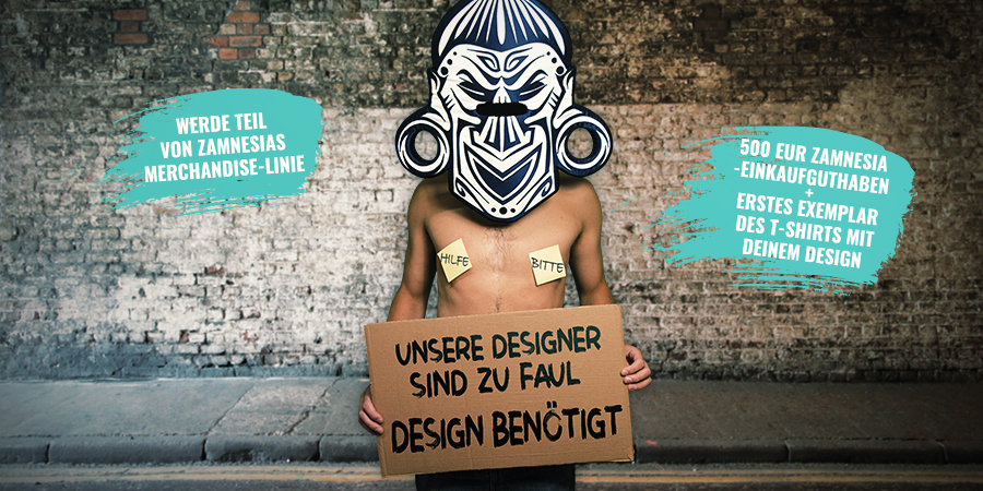 Zamnesia Merchandise-Designwettbewerb 2020