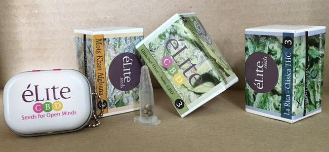 Élite Seeds Verpackung