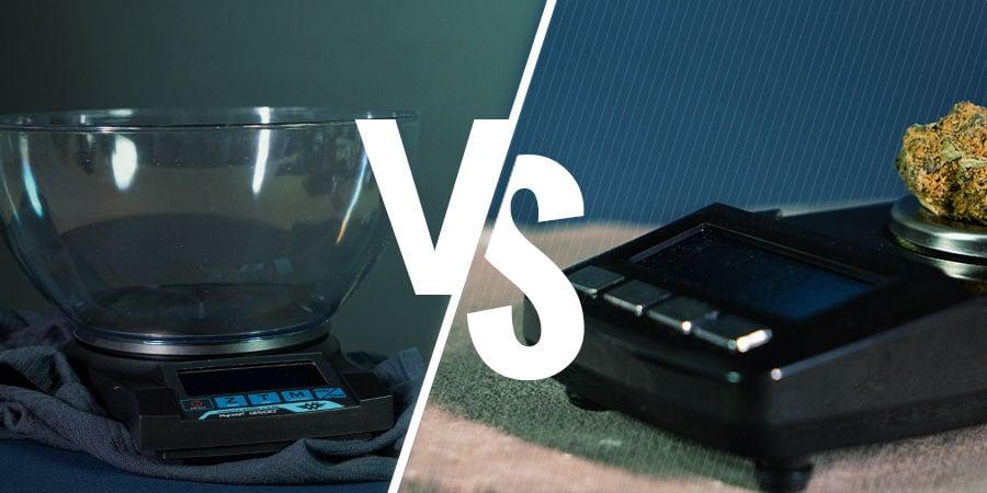 Der Unterschied Zwischen Tisch- Und Taschenwaagen