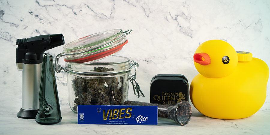Was ist das beste Rauchzubehör für Cannabis?