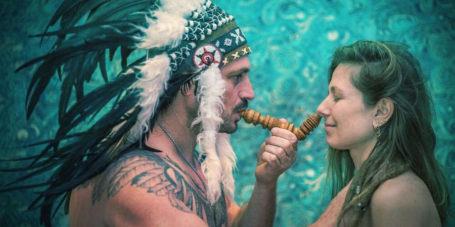 Unter Den Stämmen Südamerikas Wird Rapé Für Verschiedene Zeremonielle Zwecke Verwendet