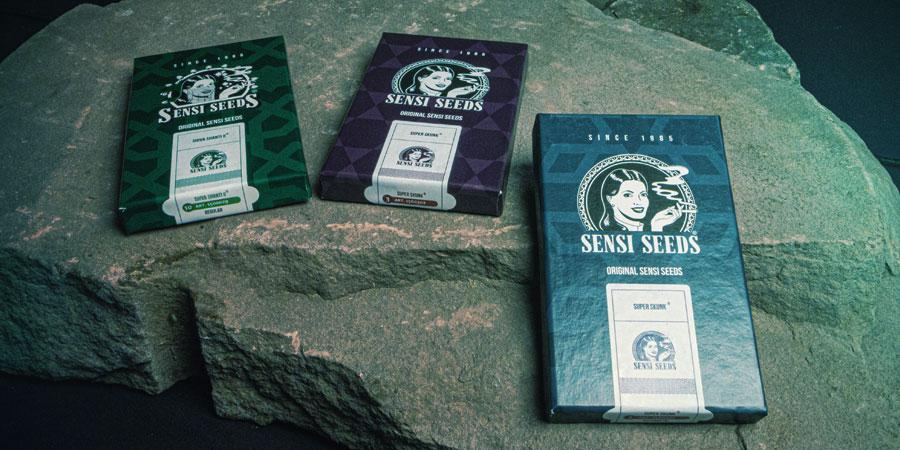 Verpackung von Sensi Seeds