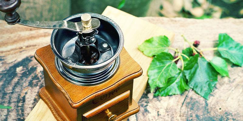 Weed zerkleineren ohne Grinder: Kaffeemühle