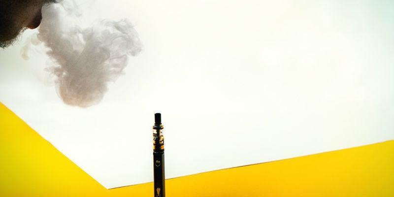 Erzeugen alle Vaporizer große Dampfwolken?