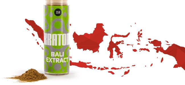 Kratom Bali 15x Extrakt