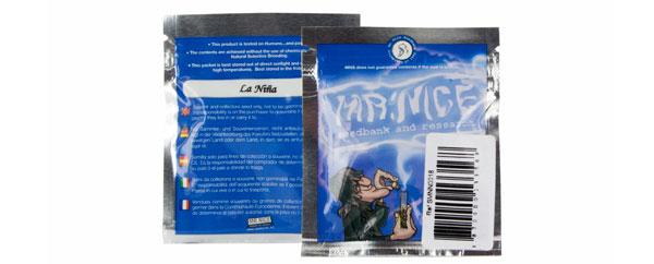 Verpackung von Mr. Nice
