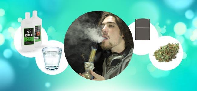 Wie Man Eine Bong Raucht