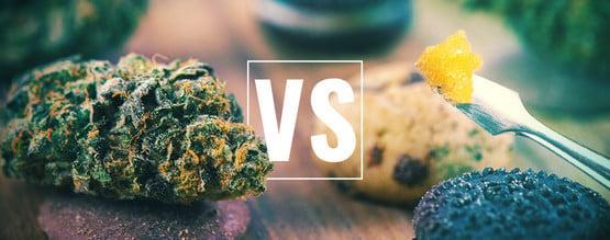 Cannabisblüten vs Esswaren vs Konzentrate: Was ist das Beste?