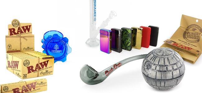 Produkten Headshop Zamnesia