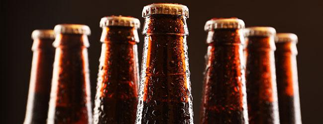 Abfüllung von Bier