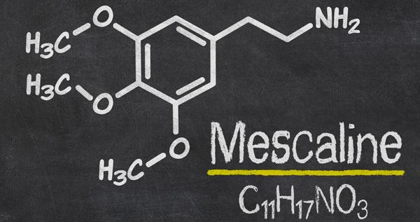 Mescaline chemische Formel