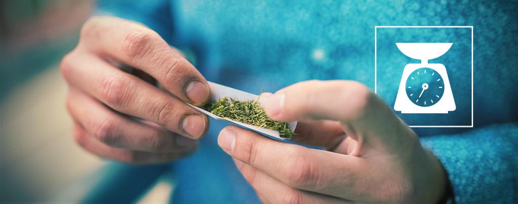 Weed In Einem Joint Durchschnittlich