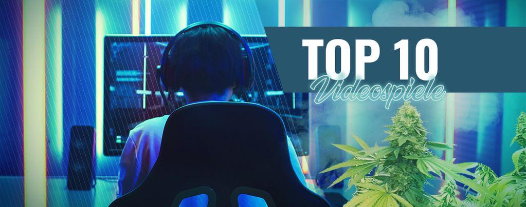 Die 10 Besten Videospiele, Die Man Spielen Sollte, Wenn Man High Ist