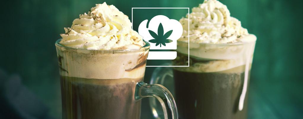 Cannabis Heiße Schokolade