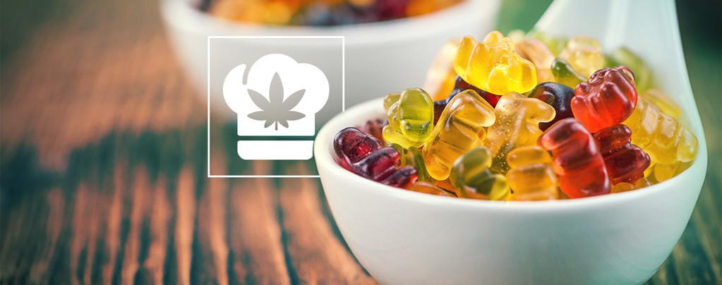 Marihuana Gummibärchen