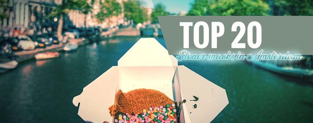 Snacks Für Grasfreunde In Amsterdam