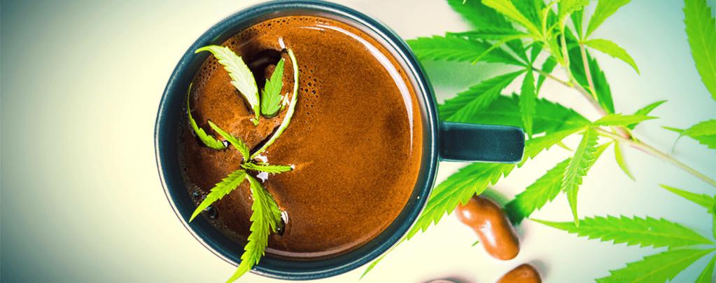 Cannabis Kaffee