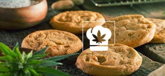 Rezept: Cannabis Erdnussbutter Kokos Kekse