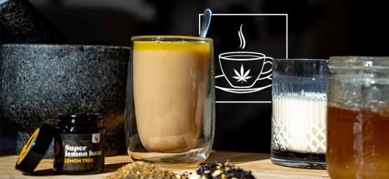 Wie man Cannabis Chai Tea macht