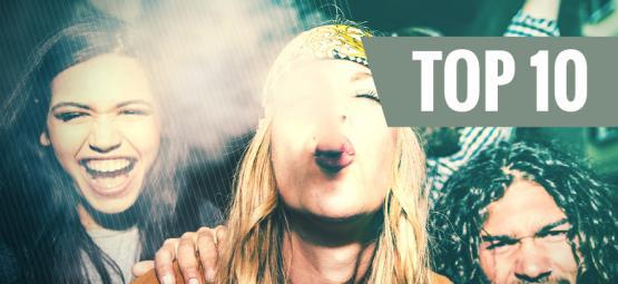 Top 10 Cannabissorten, Die Einen Lachanfall Auslösen
