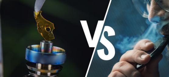 Dabben vs. Verdampfen: Gesundheit, Effizienz, Preis und Tragbarkeit