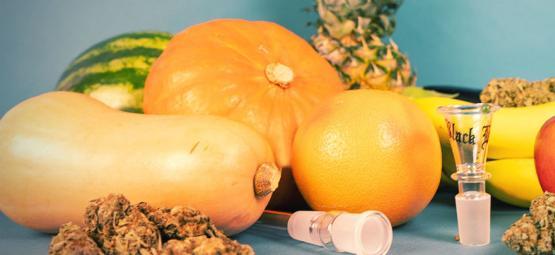 Top 6 der Bongs und Pfeifen aus Frucht- und Gemüsesorten