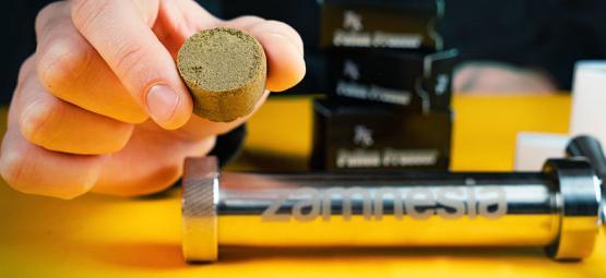 Wie Man Eine Pollenpresse Für Die Herstellung Von Hasch-Pellets