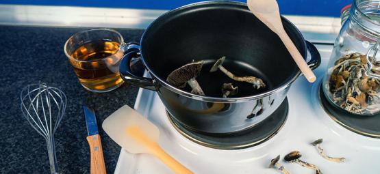 Wie Man Magic Mushrooms In Der Küche Einsetzen Kann