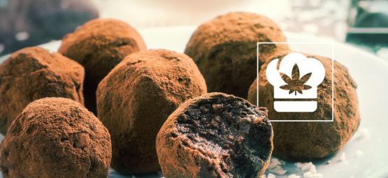 Wie man Cannabis Schokoladentrüffel herstellt