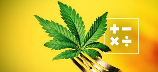 Wie man die THC Dosis in Esswaren berechnet
