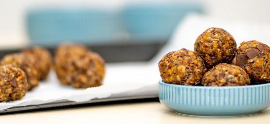 Ohne Backen Cannabis Energy Balls Herstellen
