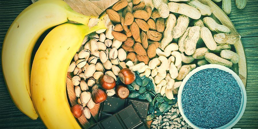Nahrungsmittel Mit Hohem Gehalt An Magnesium