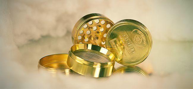 METAL GRINDER 24K GOLD