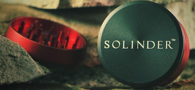 SOLINDER METALL-GRINDER VON AFTER GROW