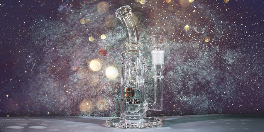GLASS OIL RIG BLAZE INLINE DIFFUSER