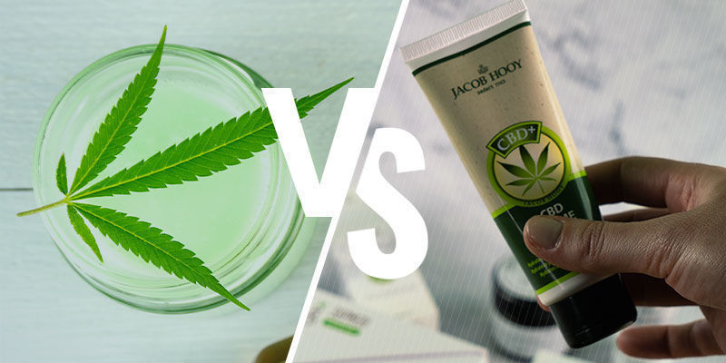 THC Topicals vs CBD Creams