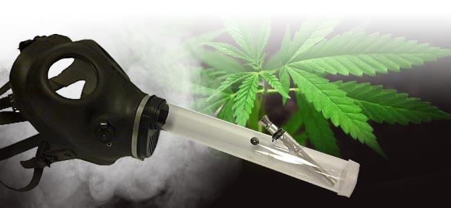 Smoke Cannabis Gas Mask