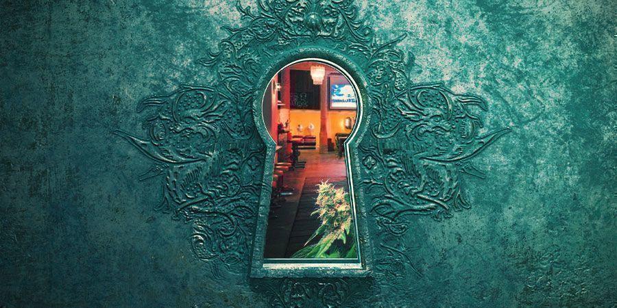 Through The Keyhole Of A Spanish Cannabis Club