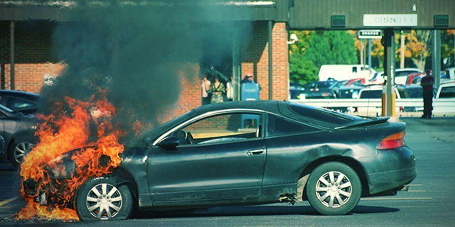 Yuri Dabber Extraordinaire Starts A Car Fire
