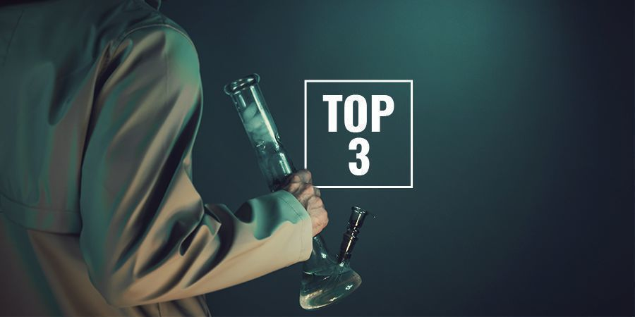 Top 3 Borosilicate Glass Bongs At Zamnesia