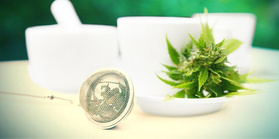 Recipe for cannabis tea