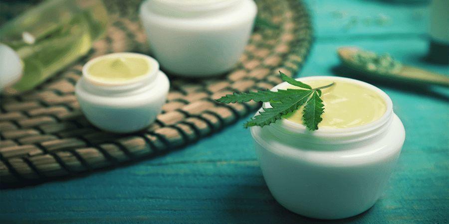 Cannabisstängeln: Salben