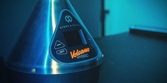 VOLCANO Hybrid vaporizer